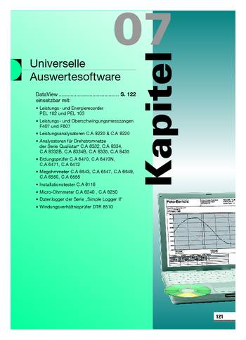 Universelle Auswertesoftware